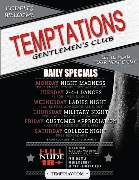 Temptations Gentlemen's Club